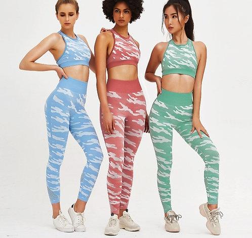 彩虹斑馬運動套裝 Rainbow zebra sportswear