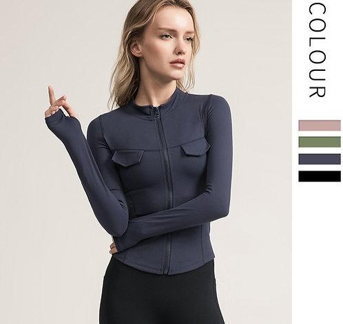 莫蘭迪緊身運動外套 Morandi tight sports jacket