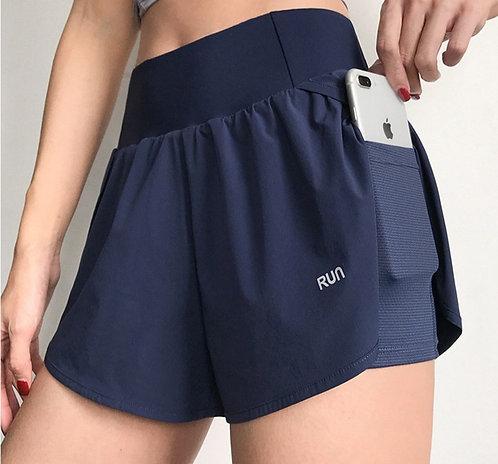 側口袋運動短褲Side pocket shorts