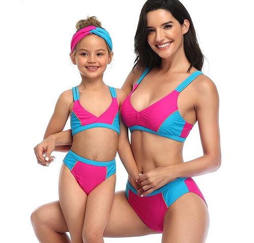 繽紛盛夏親子泳裝Fun summer parent-child swimwear