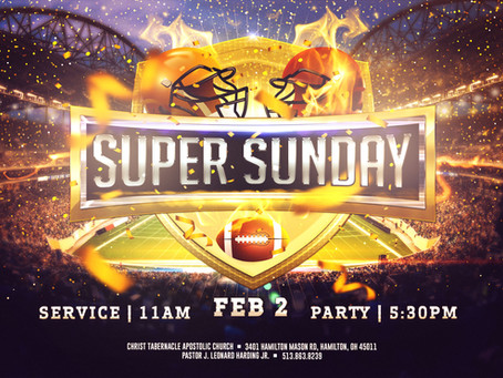 Super Sunday Party & Chili Cook-Off