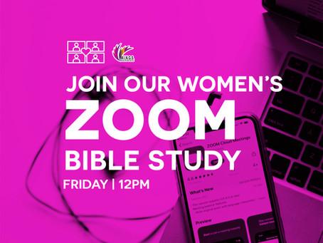 Women's Zoom Bible Study