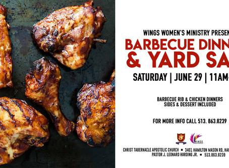 BBQ Dinner & Yard Sale