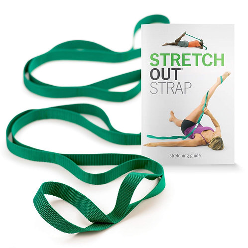Original Stretch Out Strap with Exercise Book by OPTP https://amzn.to/2WdydlR