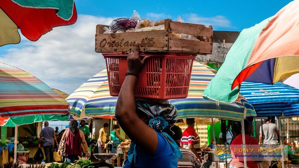 Marché de Roseau Dominica