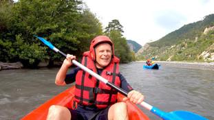 Expérience de Kayak-raft dans le sud de la France