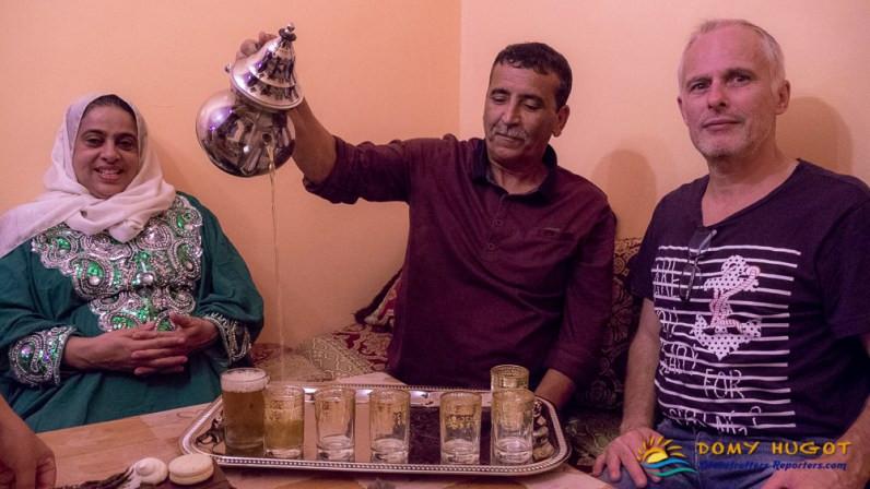 Maroc Diner chez l'habitant