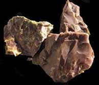 Rhyolite earth stones