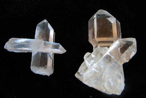 Cross and Scepter Quartz Crystals