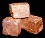 Limonite crystals