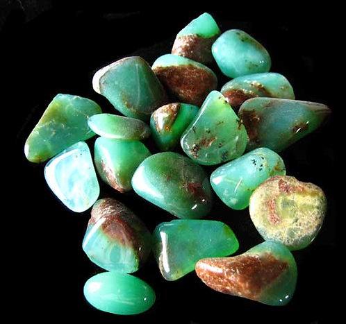 Chrysoprase Tumbled Stones