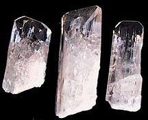 pink danburite crystals