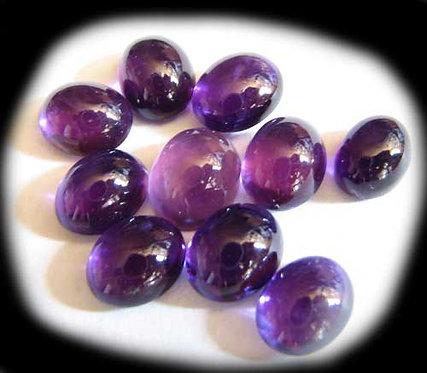Amethyst Gemstone Cabochons