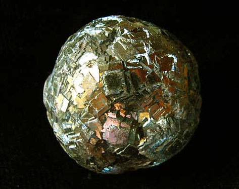 Natural Iron Pyrite Egg-7