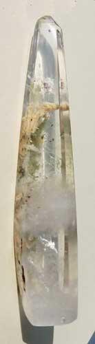included quartz crystal