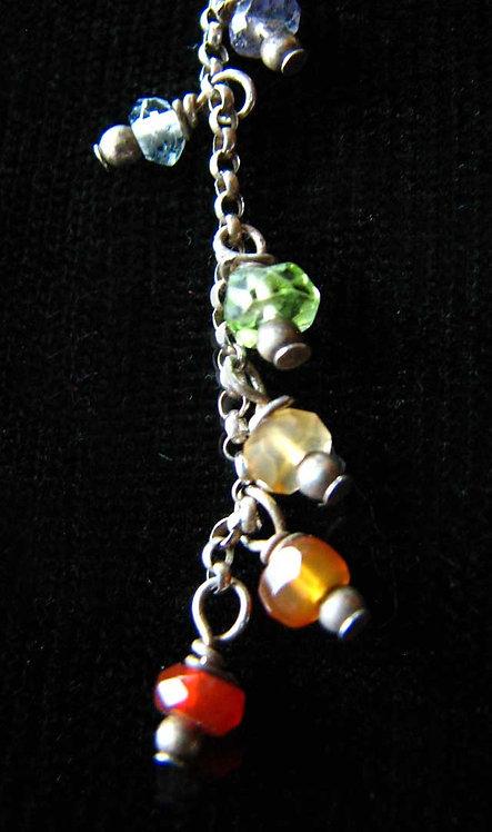 Chakra Lariat Style Necklace