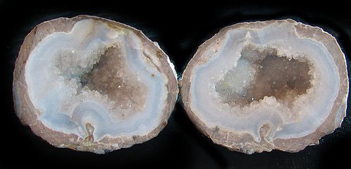 Quartz filled Geode Set