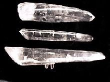 "Lazer ""Diamantina"" Quartz Crystals"