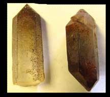 Fire Quartz Crystals