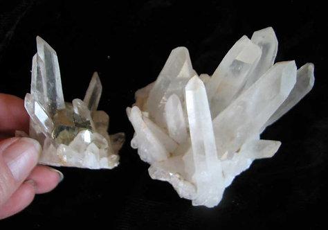 Quartz Crystal Clusters Group-4
