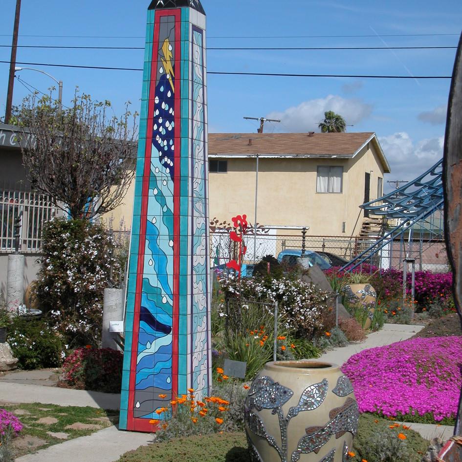 Neighborhood Obelisk: Five Elements