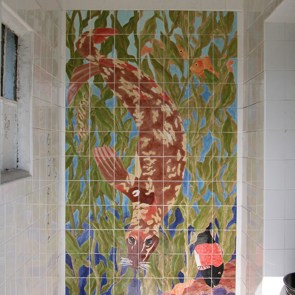 Public Art in Private Places - Kelp Forest