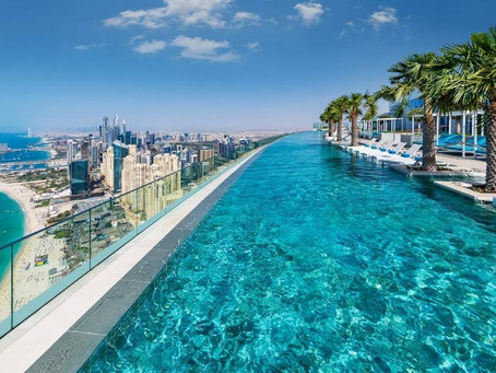 Dubai breaks record for world's highest infinity pool