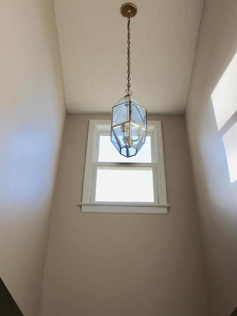 Closeup of skylight