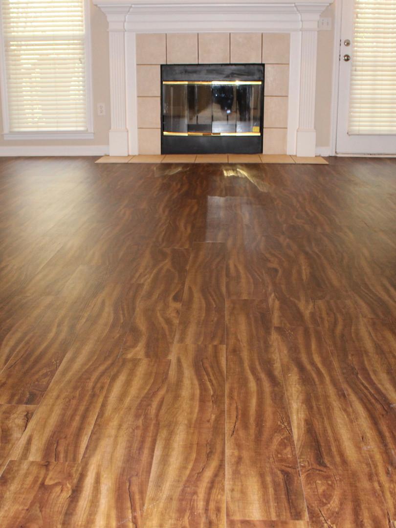 New Luxury Vinyl Floors