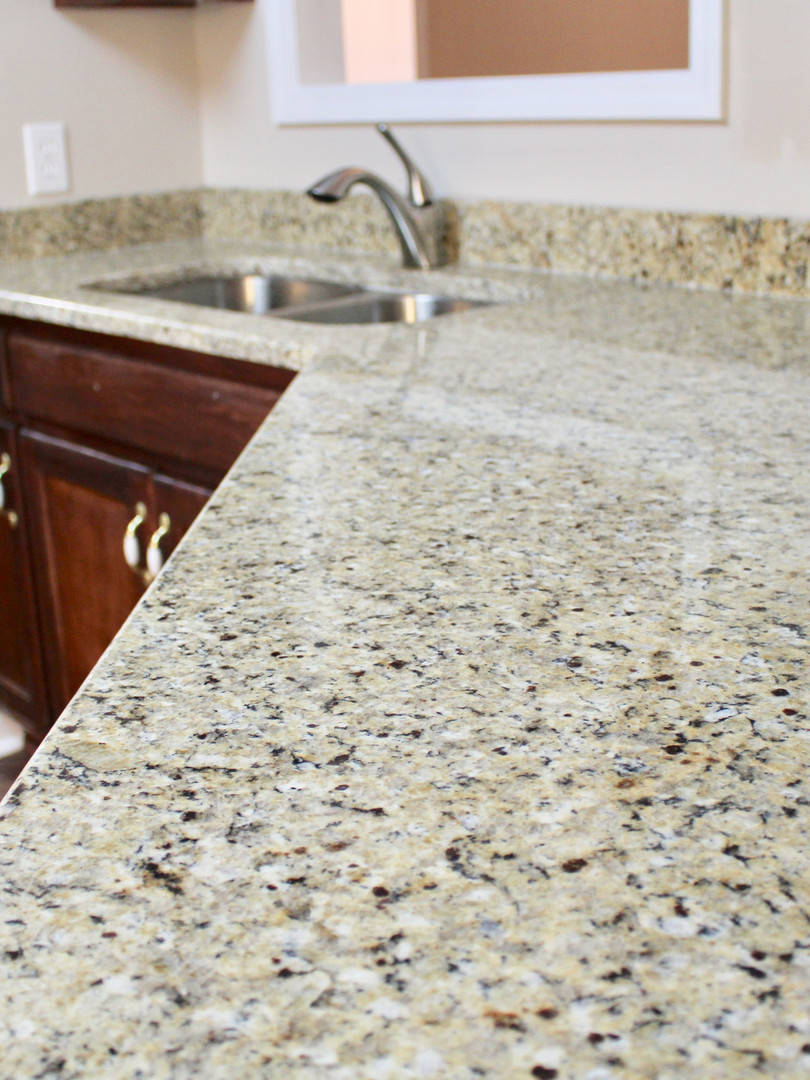 New granite countertops