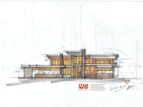 Modern House design can be warm and inviting...