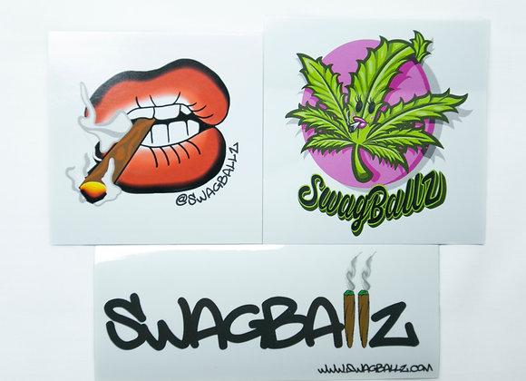 Swagballz Sticker Pack