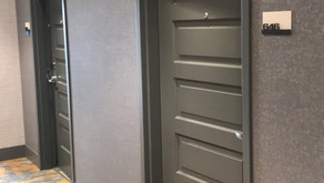 DESCO Awarded Crown Plaza Hotel Door Installation