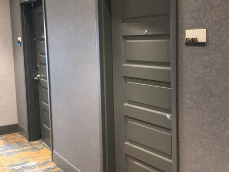 DESCO Awarded Crown Plaza Hotel Door Installation