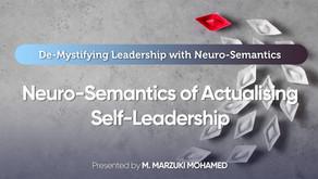 Demystifying Leadership: Part 3 - The Neuro-Semantics of Actualising Self-Leadership