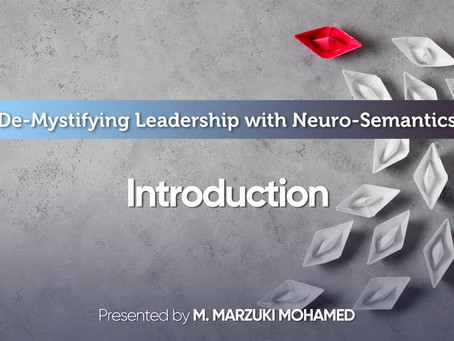 Demystifying Leadership: Part 1 - Introduction