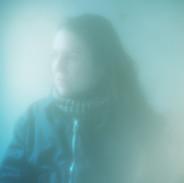 GOLD SEES BLUE (Portrait of Kerstin Brätsch) #1