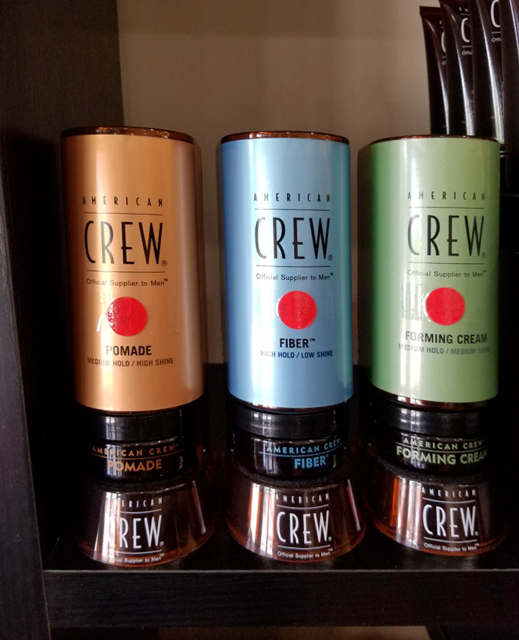American Crew Hair products