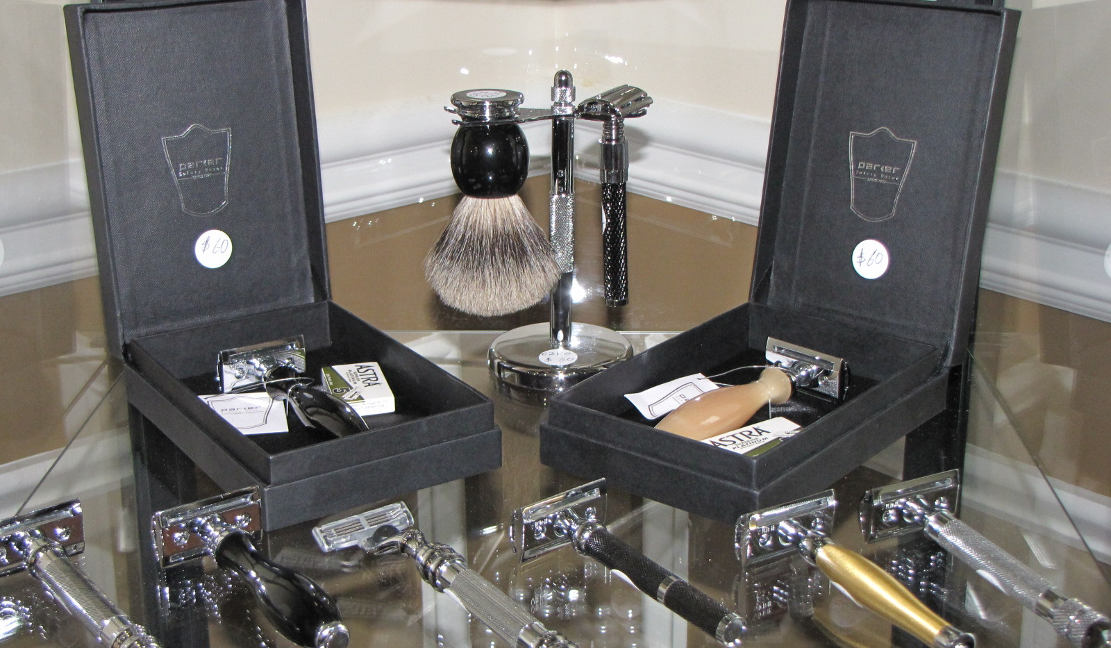 High-end Safety Razors and Brushes