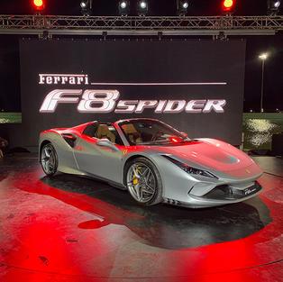 Ferrari F8 Spider Launch