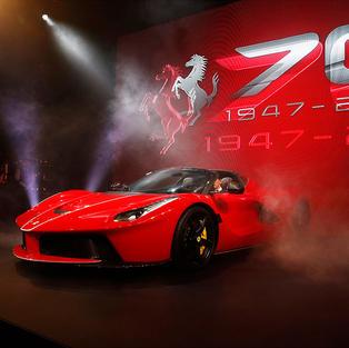 Ferrari's 70th Anniversary