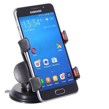 Držák telefonu / GPS na přísavku DOUBLE CLIPS - COMPASS
