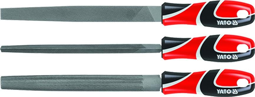 Sada pilníků zámečnických 250 mm 3 ks -YATO