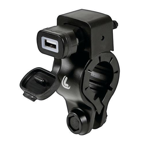 USB nabíječka na motorku s upevněním na řídítka - Fast Charge - 300