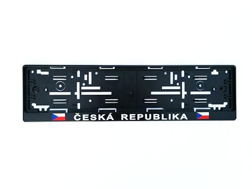 Podložka pod SPZ - Česká republika