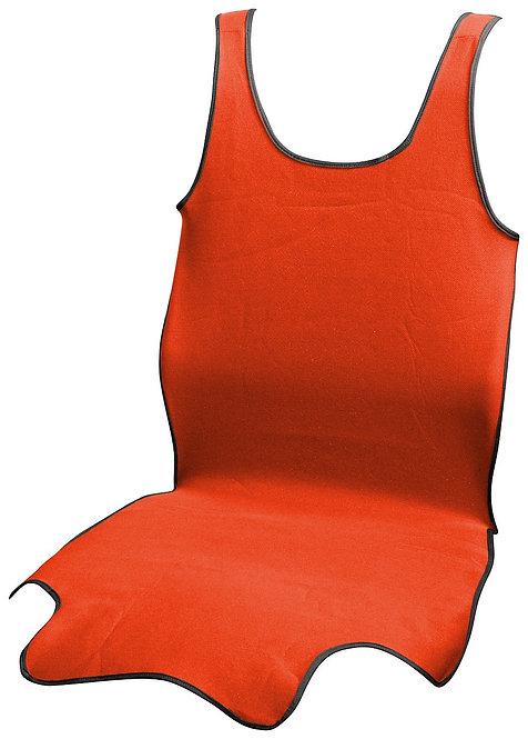 Potah sedadla TRIKO SOFT přední 1ks červený - COMPASS