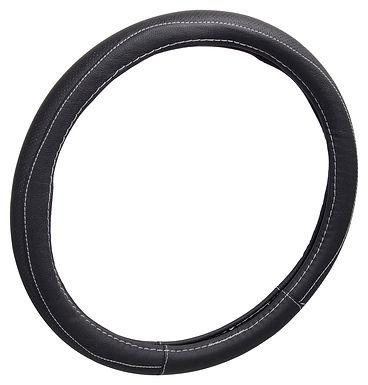 Potah volantu CLASSIC černý průměru 37-39cm - COMPASS