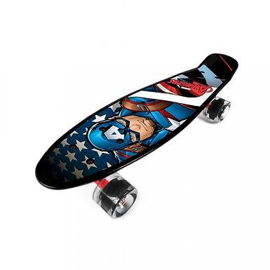 Skateboard plastový Captain America-Avengers