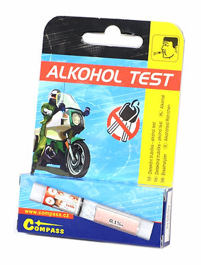 Detekční trubička, alkohol test - COMPASS