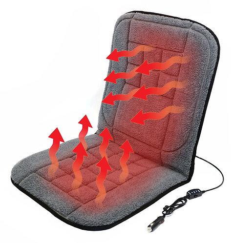 Potah sedadla vyhřívaný s termostatem 12V TEDDY přední - COMPASS